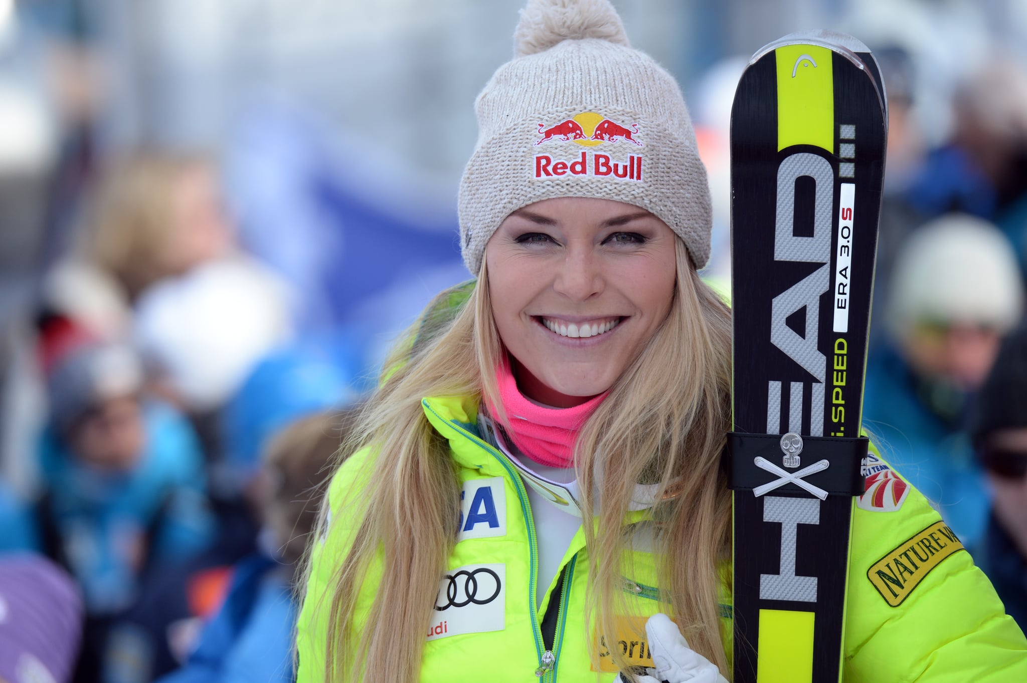 Lindsey Vonn Wins 63rd Women 39 S World Cup Popsugar Fitness