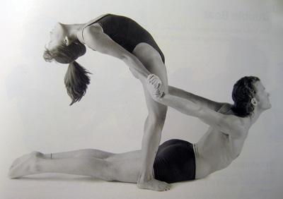 rising cobra  partner yoga poses that work your back