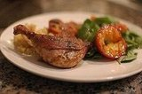 Duck Breasts With Grilled Plums