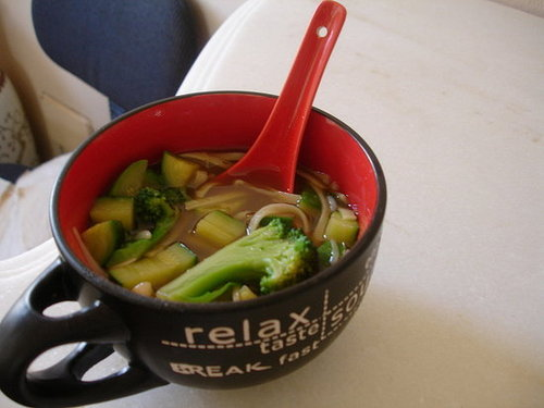 Dinner For Two: Nigella's Noodle Soup