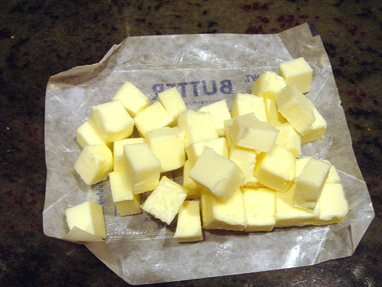 Butter, ready to go.