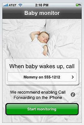 mommy 39 s lil helper baby monitor for your iphone popsugar moms. Black Bedroom Furniture Sets. Home Design Ideas