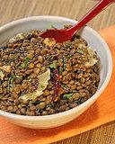 Madhur's Green Lentils With Lemon Slices